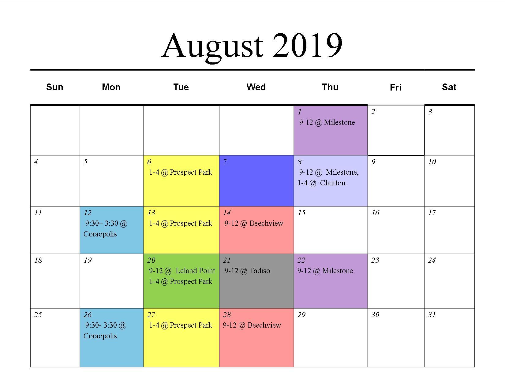 MU August 19