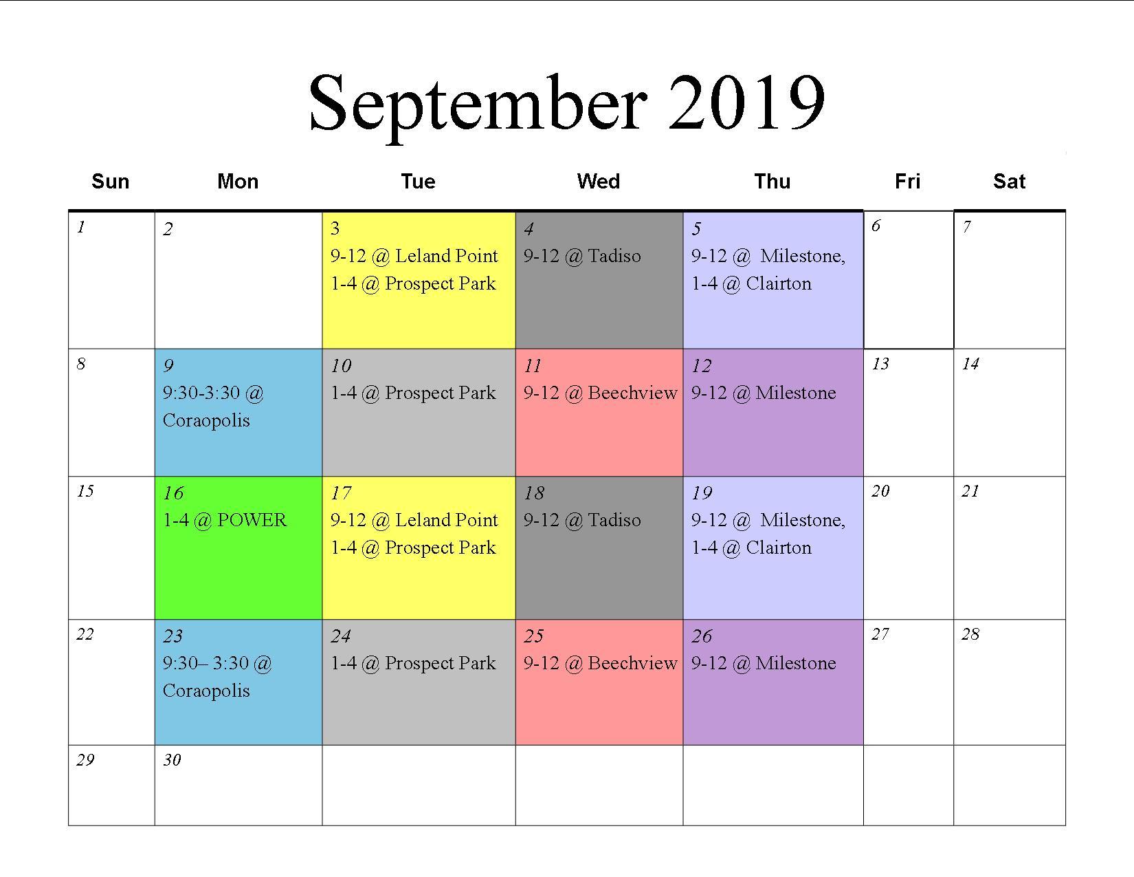 MU September 2019